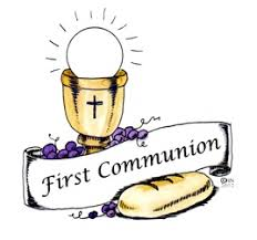 Image result for FIRST COMMUNION CHILDREN CARTOON