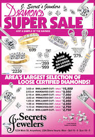 ad sample diamond super sale sample advertisement jewelry secrets