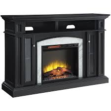 scott living 59 in w 5100 btu dark grey wood flat wall infrared quartz
