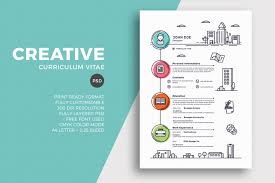Creative Resume Design The Best CV Resume Templates 24 Examples Design Shack 15