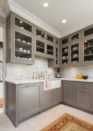 painted gray kitchen cabinetsKitchen Cabinet Paint Colors Kitchen Cabinet Painting Color Ideas