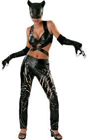 Superb Adult Deluxe Catwoman Costume