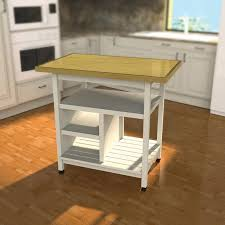 build kitchen cart with plans from kreg tool diy project kit inside diy carts 11