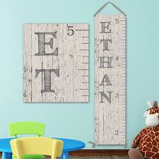 Etsy Height Chart Wall Ruler Canvas Growth Chart Ruler Wooden Height Chart Wood Growth Chart Height Chart Boy Growth Chart Gc0100d