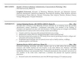 Vp Of Marketing Resume Vp Of Marketing Resume To Sample Resume For