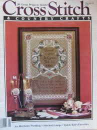 101 Best Loved Designs From Cross Stitch And Country Crafts Crossstitch Country Crafts May June 1986 Volume 1