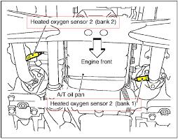 2000 2004 nissan frontier oxygen sensor o2 sensor location v6 2000 2004 nissan frontier oxygen sensor o2 sensor location v6 engine