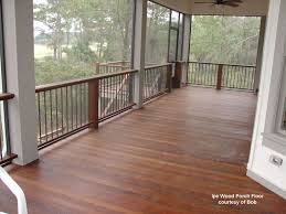 ipe wood porch flooring photo courtesy of rdo jeep