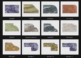 granite edges best with countertop inside edge types design 22