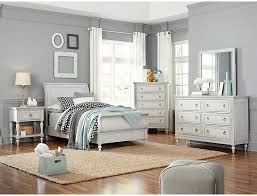 Sarah Rustic White 3 Piece Twin Bedroom Set | Outlet at Art Van
