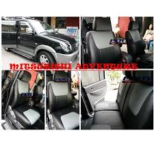 mitsubishi adventure high quality factory fit customized leather car seat cover auto accessories others on carou
