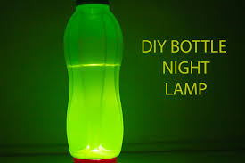 Water Lamps How To Make Simple Diy Night Lamp Any Bottle Can Be Used Youtube