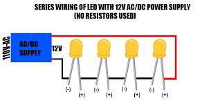 led series wiring ac 110v series