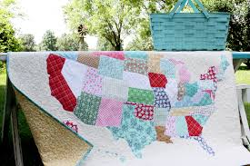 US State Map Quilt - & US State Map Quilt Adamdwight.com