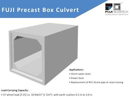 Box Drain Design Box Culvert Fuji Silvertech