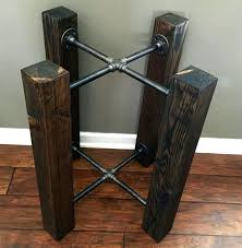 industrial furniture legs. Vintage Industrial Table Legs Black Iron Furniture Excellent Best Ideas On Wood Regarding Wrought .
