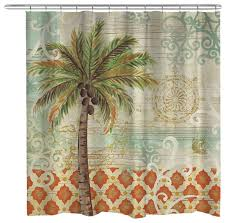 e palm shower curtain