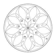 Mandalas Fleurs 8 Mandalas Coloriages Imprimer