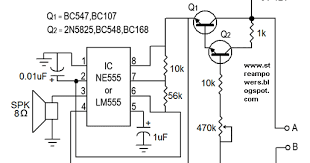 simple water sensor circuit diagram using ic 555 learn circuit diagram NuWater Concord CA at Nuwater Wiring Diagram