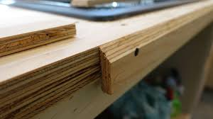 plywood is an excellent base for this as long as you are using high quality non porous tile and do a good job of grouting the tile