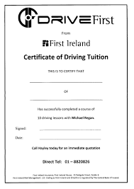 do 12 lessons with accelerate driving school and receive 20 off your driving insurance quote with first ireland insurance call michael 0862262120 for