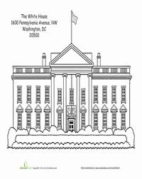 Small Picture White House Worksheet Educationcom