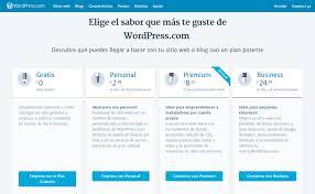 planes wordpress