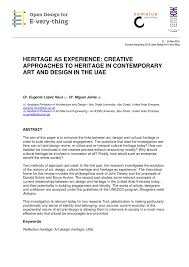 Society For Creative Anachronism Modern Resume Pdf Heritage As Experience Creative Approaches To Heritage In