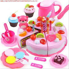 kids toys 80pcs birthday cake diy model 3 children kids early educational classic toy pretend play kitchen food plastic toy gift 4gvfpzce
