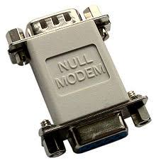 null modem a null modem adapter