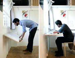 small folding desk wall folding desk for small place clever ideas fold up wall table small