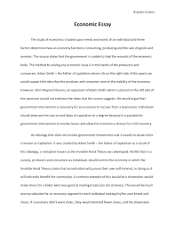 economic essay co economic essay