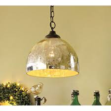 mercury glass pendant light light fixture glass globes sphere pendant light