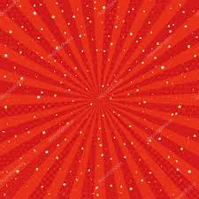 Radial Red Red Radial Background With Japanese Traditional Design Golden And