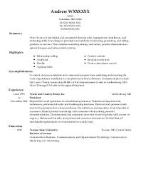 Sample Resume: Sleep Technician Resume Exles Near Columbia.