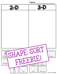 Pictures on 3d Shape Worksheets For Kindergarten, - Easy Worksheet ...