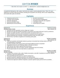 Resume Experience Examples Magnificent Retail Salesperson Resume Examples Created By Pros MyPerfectResume