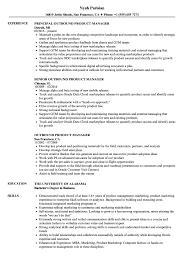 Outbound Product Manager Resume Samples Velvet Jobs