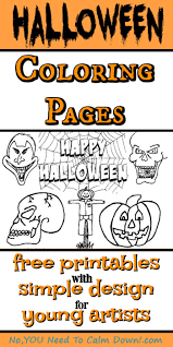 Halloween Coloring Pages for Kids - Free Printables | No, YOU Need ...