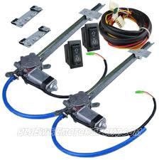 bluewire automotive power window kits accessories universal flat glass power window kit 2 switch wire harness 2d