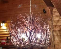 branch chandelier lighting. the kinkaid rustic chandelier lighting 3 light twig branch