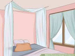 How to Decorate a Teenage Girl's Bedroom (with Pictures ...