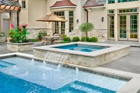 inground pools with hot tubs. Perfect Inground Inground Pool U0026 Spa Traditionalpool Inside Pools With Hot Tubs H