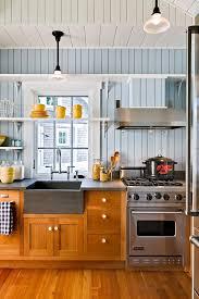 cast iron kitchen sink kitchen beach with country kitchen blue walls