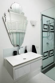 art deco bathroom. Art Deco Contemporary-bathroom Bathroom