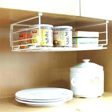 under counter shelf cabinet storage organizers kitchen cupboard shelves pull out pantry