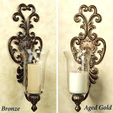 sconces glass sconces for candles mirrored wall sconce candle holder with crystals medium size of