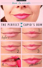 perfect cupid bow lips