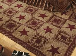 vintage star rug | Primitive Home Decors & Wine Country Star Rug Adamdwight.com