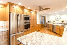 natural cherry cabinets natural cherry cabinets with quartz countertops